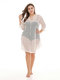 Lace Women Swimsuits Hollow Overhead Cover Ups Beachwear