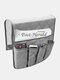 Anti-Rutsch-Sofa Stuhl Armlehne 5 Pocket Organizer Couch Fernbedienung Aufbewahrungstasche Magazin Kleinigkeiten Aufbewahrung Taschen - Grau
