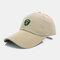 Men Sunscreen Outdoor Fishing Travel Casual Broad Brim Visor Sun Hat Baseball Hat - Camel