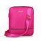 Women Nylon Crossbody Bag Lightweight Shoulder Bag  - Red