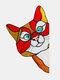 1 PC PVC Cartoon Peeking Cat Dog Cute Home Decoration Self-adhesive Waterproof Window Sticker Wall Sticker - #04