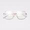 Anti Blue Light Goggles Led Reading Glasses Radiation-resistant Glasses Computer Gaming Eye Glasses - White