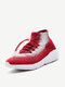 Women Outdoor Comfy Canvas Lace Up Round Toe Sneakers Shoes