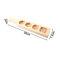Цветы Помадка Мусс Форма для печенья Кондитерские изделия Украшения для выпечки Набор Самодельная машина для приготовления лунного пирога - #3