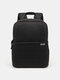 SLR Photography Backpack Double-layer Leisure Business Computer Backpack USB Multifunctional Digital Camera Bag - Black