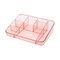 ABS التخزين المكتبي صندوق تخزين مستحضرات التجميل مربع