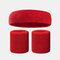 15 colori Soft Set di fascia per lo sport con fascia da polso per asciugamano Set di fascia per la fascia assorbente da sudore per sport sportivo - 12