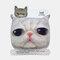 Cute Pet Pattern Warm Plush Mask - 03
