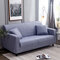 1/2/3/4 Seater Houndstooth Home Soft Elastic Sofa Cover Easy Stretch Slipcover Protector Couch - Blue