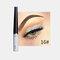 Matte Liquid Eyeliner Quick Dry Wasserdichter Eyeliner Bleistift Braun Lila Farbe Eyeliner Kosmetisches Make-up-Werkzeug - 16