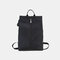 Men Waterproof Nylon Casual Large Capacity Backpack - Black