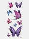 40 piezas 3D estéreo Impermeable tatuajes pegatinas escorpión flor transferencia de agua tatuaje pegatinas - 27