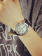 Alloy Fashion LED Touch Screen Watch Belt Couple Watch For Men Women - White(Life Tree)