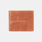 Men Genuine Leather Anti-theft Multi-slot Retro Coin Purse Foldable Card Holder Wallet - Brown