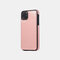 Multifunctional Leather Card Holder Wallet Phone Case For iPhone - Pink