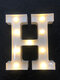 LED English Letter And Symbol Pattern Night Light Home Room Proposal Decor Creative Modeling Lights For Bedroom Birthday Party - #08