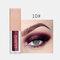 15 Colors Glitter Liquid Eyeshadow Portable Waterproof Lasting Pigmented Professional Eye Cosmetics - #10