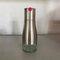ステンレス鋼と鉛フリーのガラス製オイルディスペンサーソースディスペンサー300 ml防漏型オイルボトル - ローズレッド