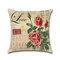 Rose Hug Pillowcase Mediterranean Nordic Style Car Cushion Cover - #4
