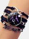 Vintage Twelve Constellation Women Bracelet LOVE Letter Multilayer Bracelet - Gemini