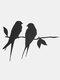 23-Types Metal Garden Tree Insert Decor Hummingbird Owl Simulation Animal Art Ornament - #22