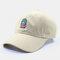 Men & Women Cactus Cartoon Embroidery Baseball Cap - Khaki