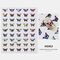 3D Waterproof Butterfly Nail Art Stickers Cute Simulation Laser Watermark Manicure Decorations Stickers - 2