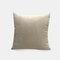 Couleur unie oreiller coussin salon canapé coussin plaine moderne minimaliste chevet taille taie d'oreiller - Beige