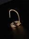 Elegant Opening Diamond Nail Ring Tail Ring - #09