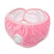 Unisex 2 In 1 Warm Face Mask Earmuffs Ear Protection Windproof Anti-smog For Cycling In Winter - Pink