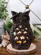 1 PC rétro en fonte hibou bougeoir à la main créatif décoration de la maison Restaurant bureau artisanat ornements - #01