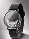 Animal Printed Men Business Watch Black-White Dogs Cats Pattern Women Quartz Watch - #16