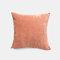 Couleur unie oreiller coussin salon canapé coussin plaine moderne minimaliste chevet taille taie d'oreiller - Rose