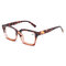 Women Men Vogue Vintage Light Flexible High Definition Full Frame Square Reading Glasses