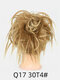 41 Colors Chicken Tail Hair Ring Messy Fluffy Rubber Band Curly Hair Bag Wig - 24