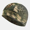 Men & Women Quick-drying Turban Perspiration Breathable Beanie Outdoor Riding Pirate Hat Bandana - Green