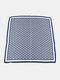 Women Silk Floral Pattern Printed Lightweight Headband Square Scarf - #02