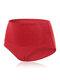 Mutandine per il sollevamento dell'anca a vita alta in cotone a vita alta - Rosso
