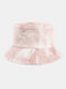 Women & Men Corduroy Multicolor Tie Dye Casual Soft Outdoor All-match Bucket Hat - #15
