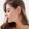 Copper Inlaid Zircon Plated Gold Puncture Earrings Surround Auricle Women Ear Clip - 12