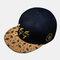 Embroidery Baseball Hat Summer Street Dance Wild Flat-edge Hat Mens Caps - Navy