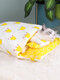 1PC S/M/L Cute Cat Bed Pet Cat Sleeping Bag for Cats Kitten Kennel Star Floral Mattress Pet Bed With Pillow - Yellow