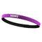Sports Headband Anti-Slip Elastic Rubber Sweatband Football Yoga Tennis Badminton Running Hairband - Purple