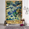 Goddess Mermaid Tarot Pattern Plush Fabric Tapestry Beach Towel Home Wall Hanging Art Tapestry Decor