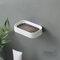 1Pc Soap Holder Double-Layer Bathroom Accessories Plastic Shower Soap Dish Non-Slip Draining Tool Drainage Household Soap Box - Black