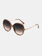 Unisex Bright Square Shape Full Frame Fashion Outdoor Driving UV Potection Sunglasses - Coffee
