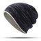 Женское Мужская теплая вязаная шапка Шапка На открытом воздухе Повседневная ветрозащитная двухсторонняя одежда Уши Теплая Шапка