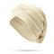 Женское Сплошной цвет Soft Гибкая шапочка Шапка На открытом воздухе Повседневная крестовая складка Индийская Шапка