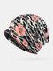महिलाओं के दोहरे उपयोग वाले छलावरण फूल पैटर्न गर्म आउटडोर मिश्रित रंग आकस्मिक व्यक्तित्व बेमिसाल बेनी दुपट्टा - #04