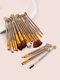 20 Pcs Shell Makeup Brushes Set Concealer Eyeshadow Loose Powder Brush Brush Pack Makeup Tool - #05